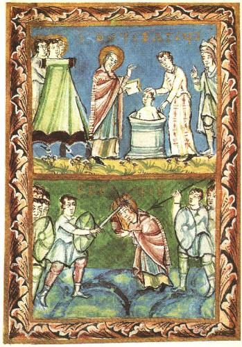 St_Boniface_-_Baptising-Martyrdom_-_Sacramentary_of_Fulda_-_11Century.jpg